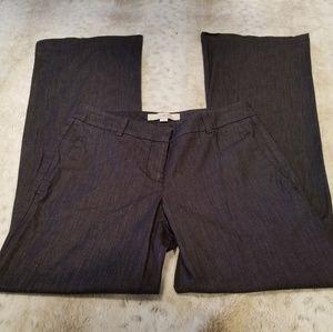Ann Taylor LOFT Long Lightweight Dark Grey Pants